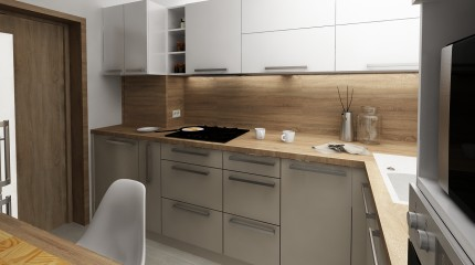 b2e019713c535 Návrh kuchyne bauring / Martin